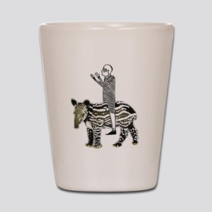 tapirRider Shot Glass