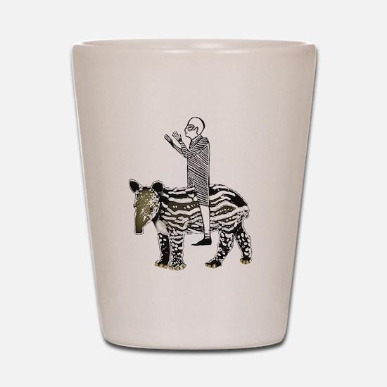 tapirRider Shot Glass