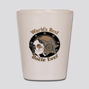 Top Dog Uncle Shot Glass
