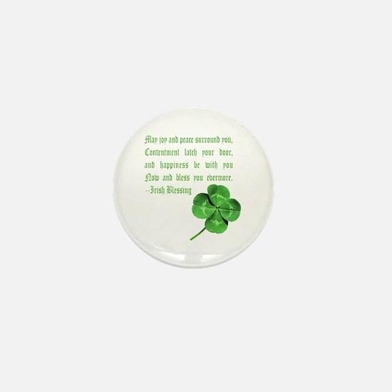 Irish blessing Mini Button