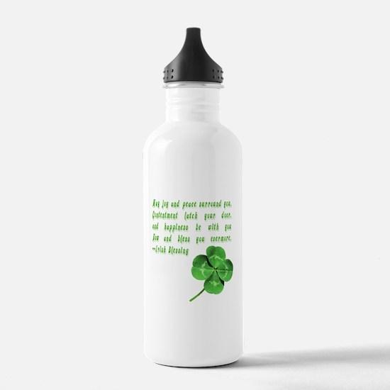 Irish Blessing Water Bottle