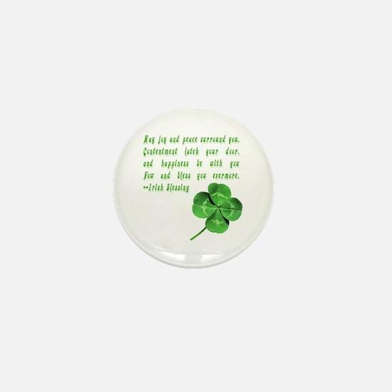 Unique Irish blessing Mini Button