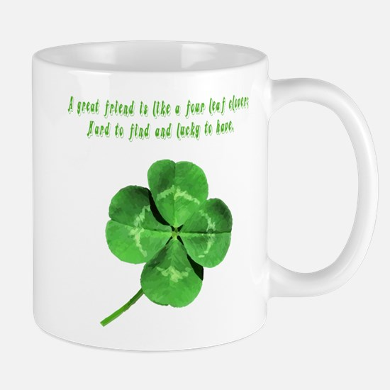 4 Leaf Clover Luck Mug