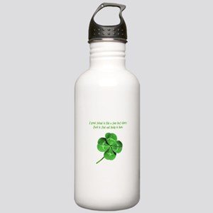 4 Leaf Clover Luck Stainless Water Bottle 1.0L
