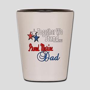 Marine Daddy Shot Glass