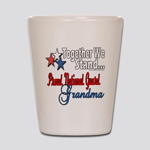 National Guard Grandma Shot Glass