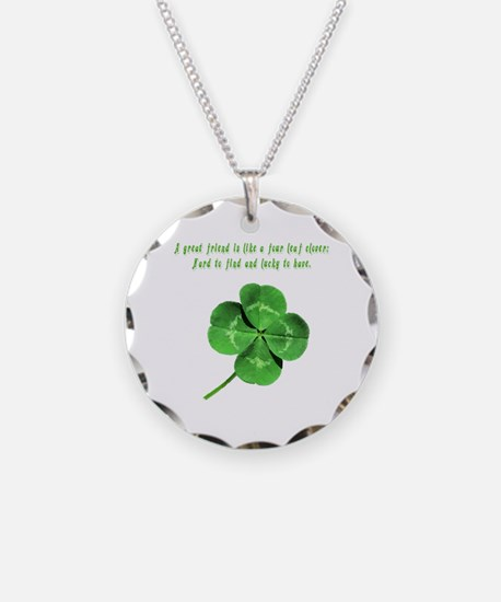 Cute Scottish st patrick Necklace