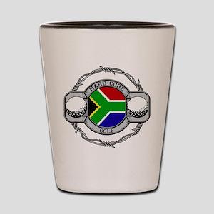 South Africa Golf Shot Glass