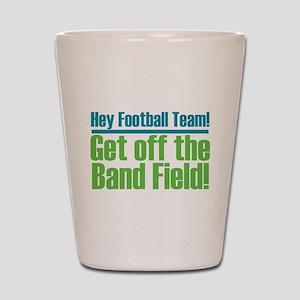 Marching Band Field Shot Glass