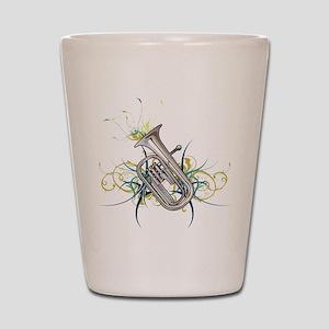 Confetti Baritone Shot Glass