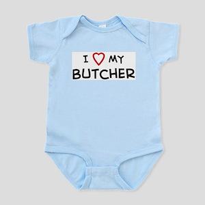 I Love Butcher Infant Creeper