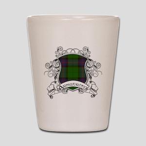 Armstrong Tartan Shield Shot Glass