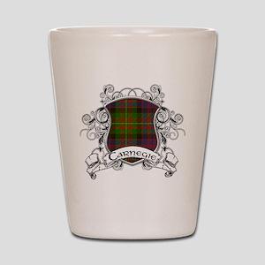 Carnegie Tartan Shield Shot Glass
