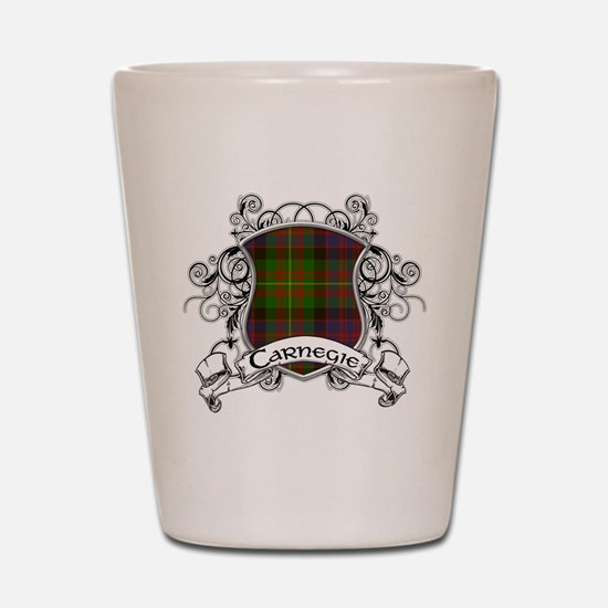 Carnegie Tartan Shield Shot Glass