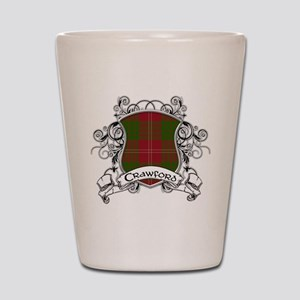Crawford Tartan Shield Shot Glass