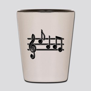 Musical Notes Shot Glass