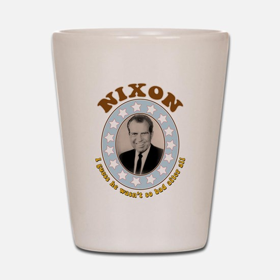 Bring Back Nixon Shot Glass