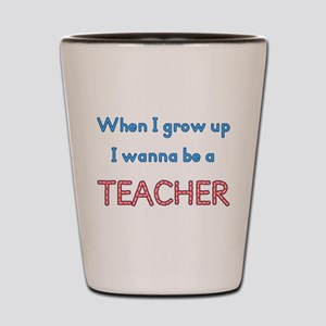 Future Teacher Shot Glass