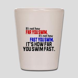Swim Fast Shot Glass