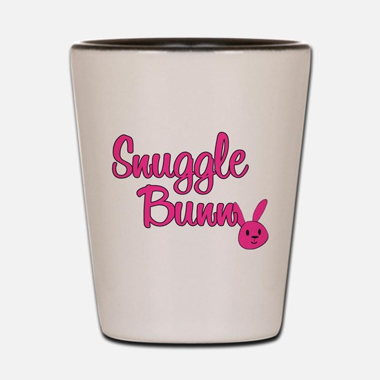 Snuggle Bunny Shot Glass