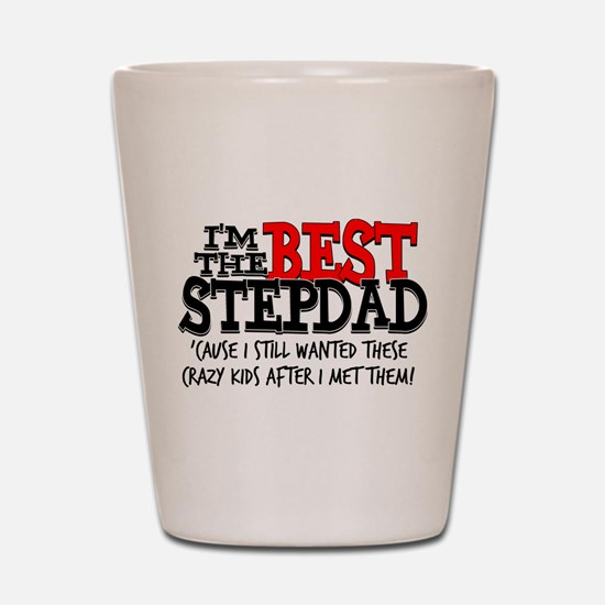 Best Stepfather Shot Glass