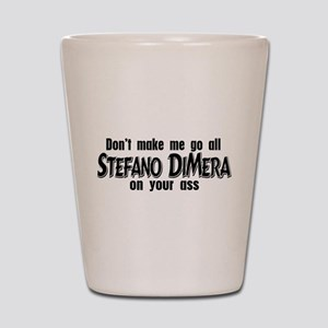 Stefano DiMera Shot Glass