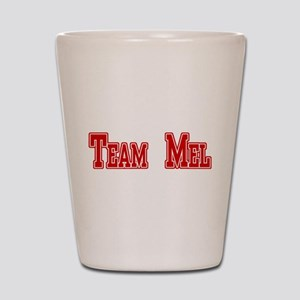 Team Mel (Plain) Shot Glass