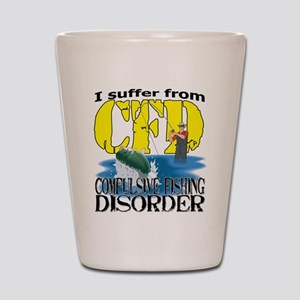 CFD - Compulsive Fishing Disorder Shot Glass