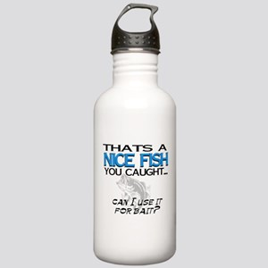 Nice Fish Stainless Water Bottle 1.0L
