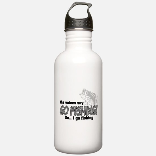 The Voices Say... Water Bottle