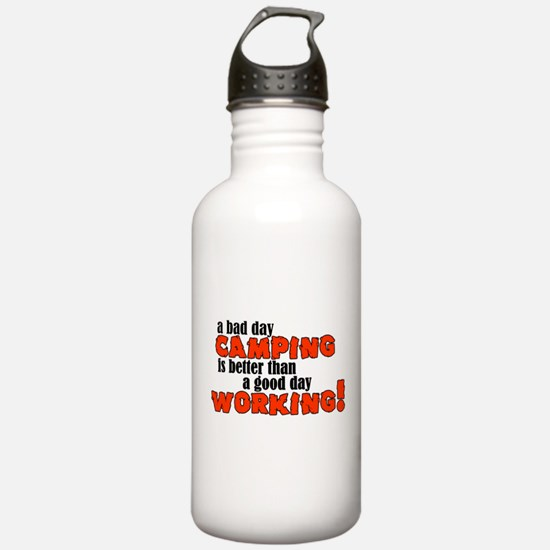 Bad Day Camping Water Bottle