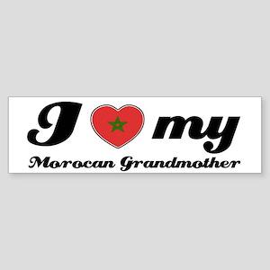 I love My Moroccan Grandmother Sticker (Bumper)