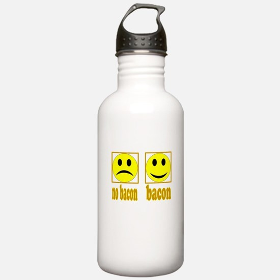 Hoo-Ray For Bacon Water Bottle