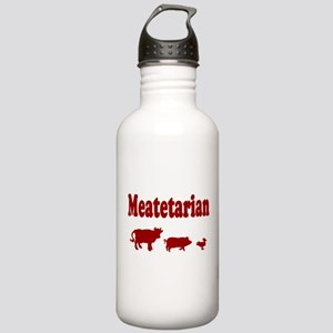 Meatetarian Stainless Water Bottle 1.0L