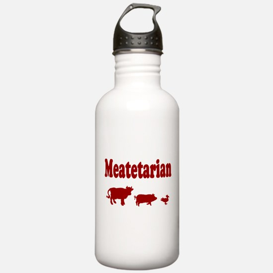 Meatetarian Water Bottle