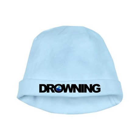 Drowning baby hat