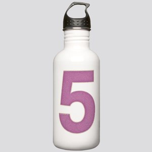 Big Purple Five   Stainless Water Bottle 1.0L