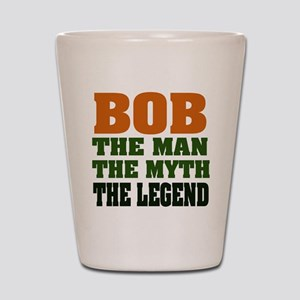 BOB - the Legend Shot Glass