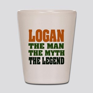 LOGAN - the legend! Shot Glass