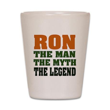 RON - The Legend Shot Glass