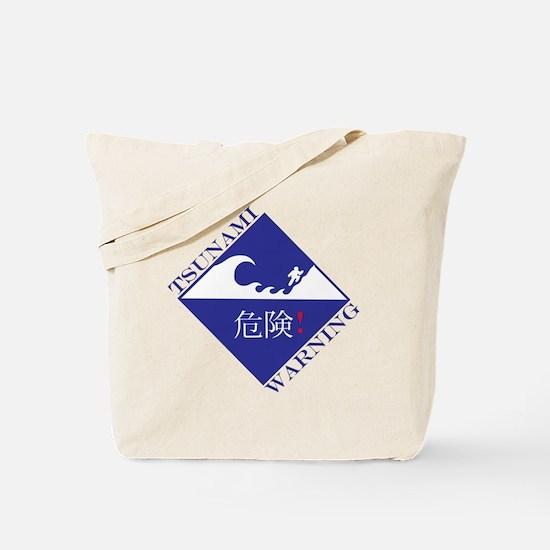Cute Tsunami Tote Bag