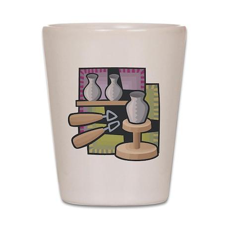 Potter Shot Glass