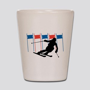 Ski Competition Shot Glass