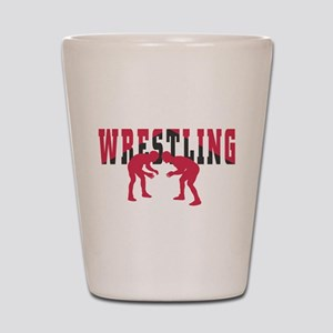 Wrestling 2 Shot Glass