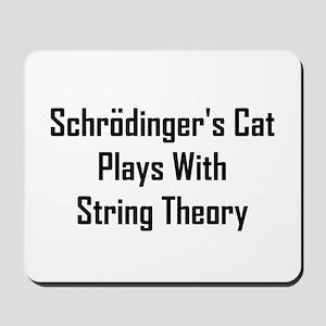 Schrodinger's Cat Plays Mousepad