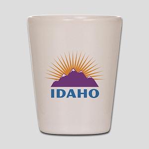 Idaho Shot Glass