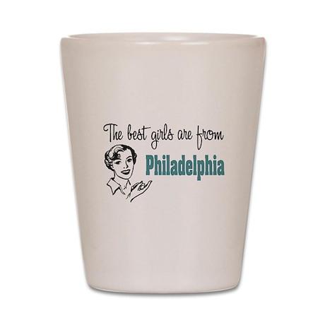 Best Girls Philadelphia Shot Glass