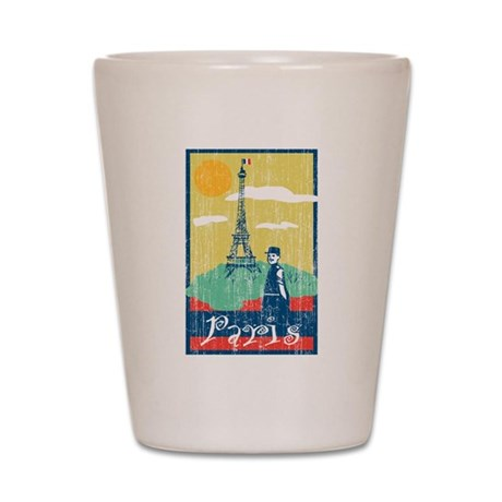 Paris Eiffel Tower Shot Glass