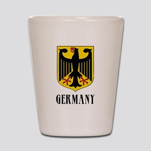 German Coat of Arms Shot Glass