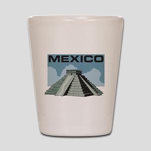 Mexico Pyramid Shot Glass